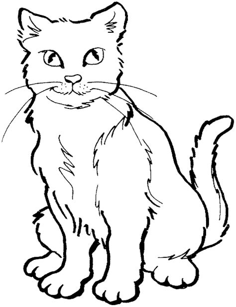cat coloring pages cats coloring pages kitten coloring