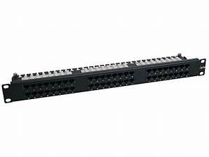 Tripp Lite 48-port 1u Rackmount Cat6 110 High Density Patch Panel  568b  Rj45 Ethernet