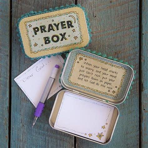 prayer box altered altoid tin   head starts