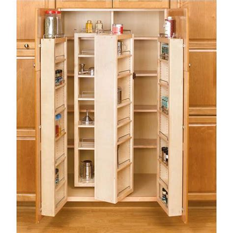 kitchen cabinet systems 51 quot h pantry system additional view 3 center wood 2801