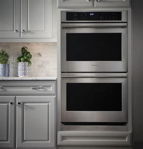 monogram  electric convection double wall oven zetshss ge appliances