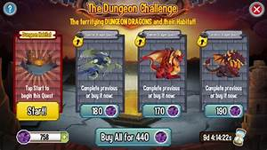 Dragon Mania Chart The Dungeon Challenge Dragon City Guide