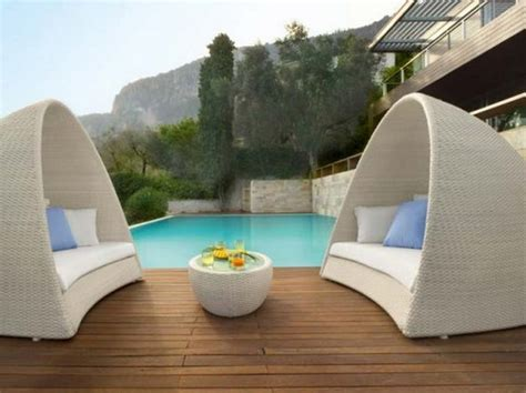 Outdoor Pool Furniture by 6 Creative Outdoor Furniture Landscape