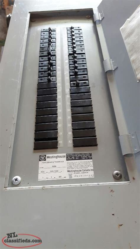 westinghouse  amp panel  breakers cbs