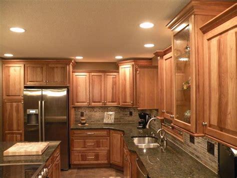 kraftmaid hickory kitchen cabinets hickory kitchen