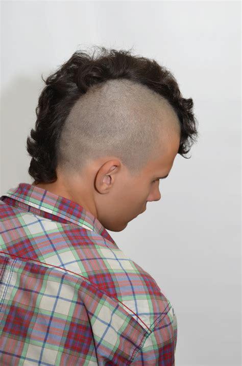 upscale mohawk hairstyles  men mens craze