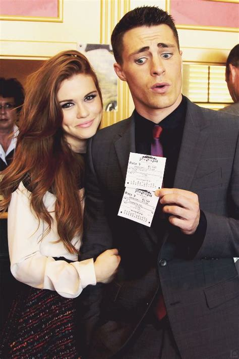holland roden y colton haynes holland roden and colton haynes teen wolf isn t the same
