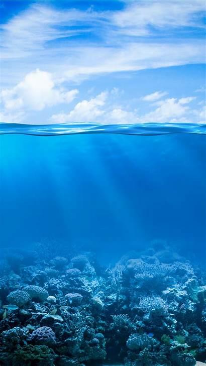Underwater Ocean Iphone Wallpapers Phone Screen Hintergrundbilder