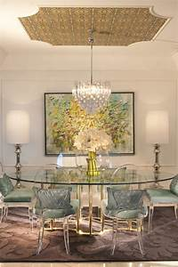 dining chair trends for 2016 from vintage elegance to With glass dining room table decor
