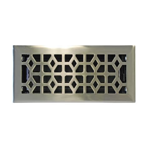 Allen Roth Brushed Nickel Floor L 1000 images about chic floor vent covers registers on