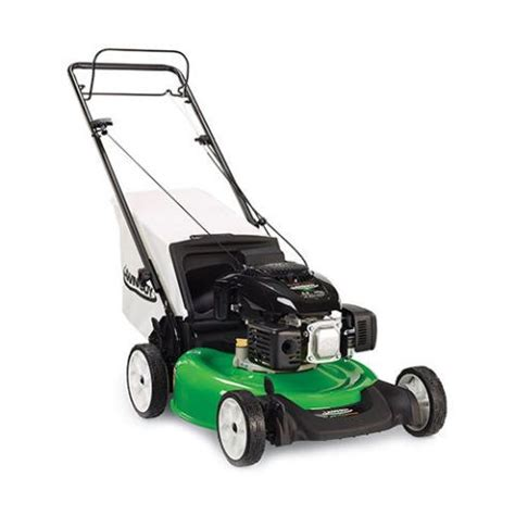 lawn propelled self mower electric start boy mowers gas engine