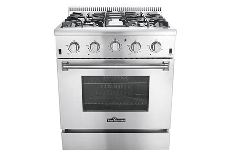 30 In 42 Cu Ft Stainless Steel Gas Range With Convection
