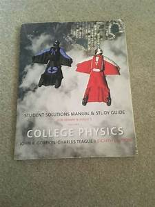 College Physics Vol  1 Eighth Edition Student Solutions