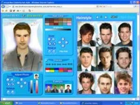 hairstyle  men    virtual hairstyle