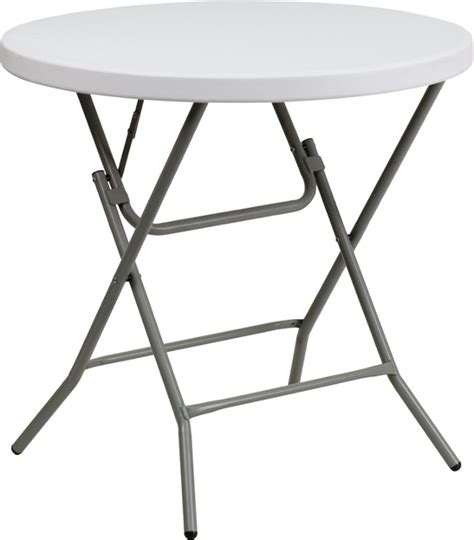 Patio Tables At Walmart by 32 Inch Round Plastic Folding Table
