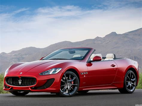 Maserati Car : 2013 Maserati Grancabrio Sport