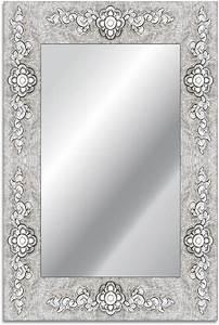 Badspiegel Mit Rahmen : home affaire spiegel rahmen blume 40 60 cm otto ~ Frokenaadalensverden.com Haus und Dekorationen