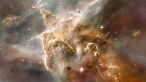 Wallpaper formless grey clouds in the deep space free ...