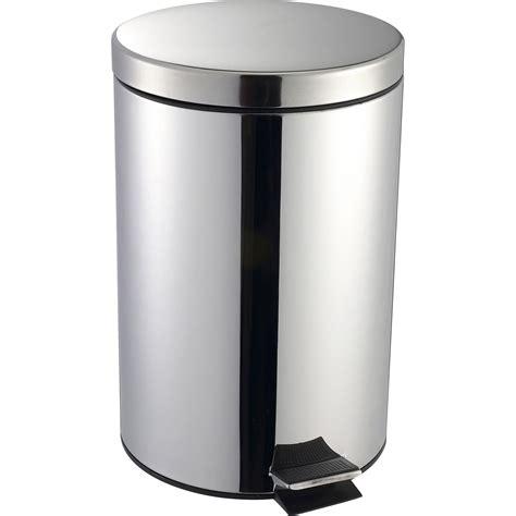 poubelle de cuisine à pédale poubelle de cuisine à pédale selekta métal inox 20 l