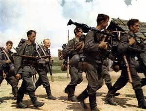Most Decorated German Soldier Ever by World War Ii In Color German Soldiers Marching In The
