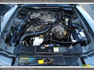 2003 Mustang V6 Coupe Engine