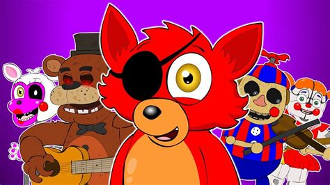 fnaf songs musical animation compilation youtube