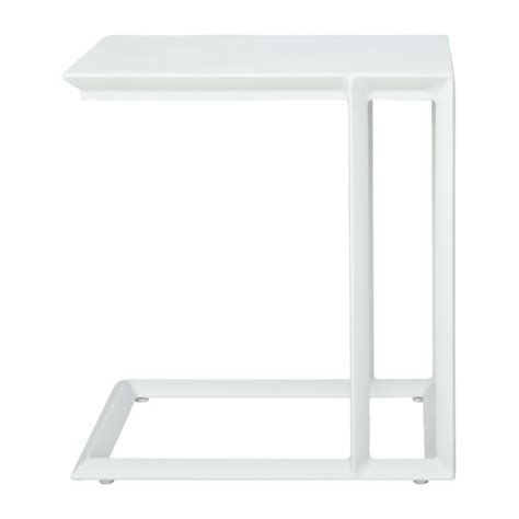 blanche table d appoint habitat