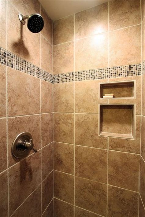 ceramic tile shower after by m ransone builder