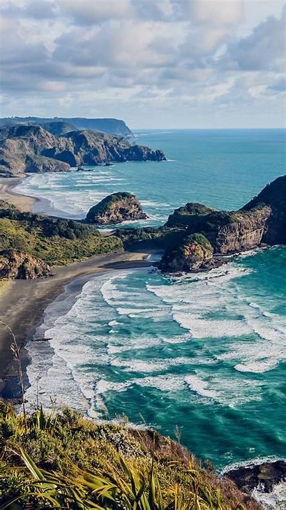 Nature Zealand Ocean Sea Water Iphone Wallpapers