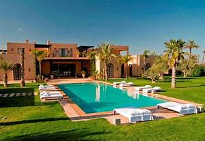 Luxury Moroccan Villa House Design Contemporary Beautiful ...