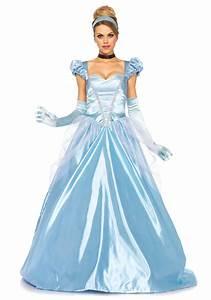 Deguisement Princesse Disney Adulte : d guisement princesse robe bleu satin femme deguise toi ~ Mglfilm.com Idées de Décoration