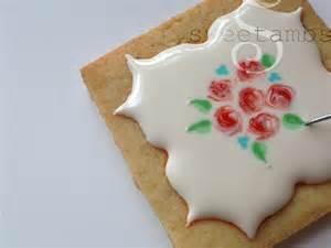 Wet On Wet Icing Sugar Cookies Design