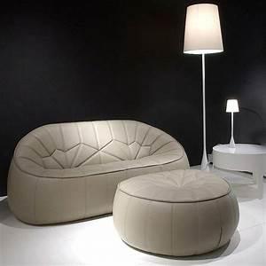 Pouf De Canapé : canap fauteuil pouf ottoman pour cinna par le designer ~ Teatrodelosmanantiales.com Idées de Décoration