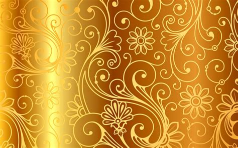 wallpaper pink motif golden pattern vintage gradient vector background gold
