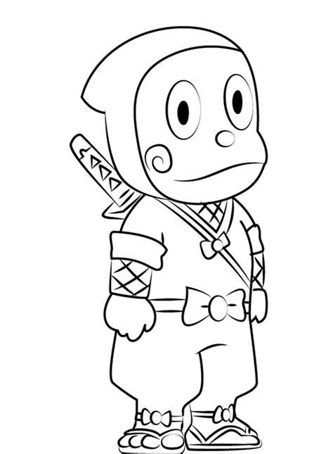 ninja hattori cartoon drawing   draw