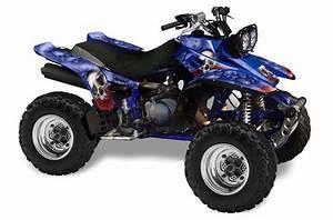 Yamaha Warrior 350 Atv Graphics  Bone Collector
