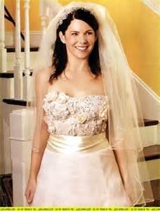 bledel wedding dress lorelai 39 s wedding dress gilmore photo 951617 fanpop