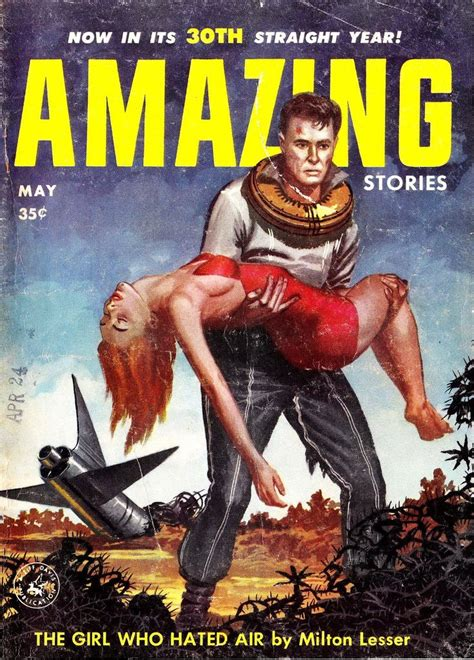 pulp covers stories amazing magazines sci fi fiction science valigursky magazine 1956 ed horror space fantasy retro n05 v30 outstanding