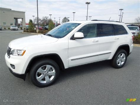 jeep cherokee white stone white 2012 jeep grand cherokee laredo x package 4x4