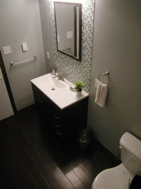 Small Modern Bathroom Remodel by Budget Bathroom Remodels Hgtv