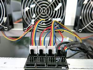 8 Way 4 Pin Cpu Fan Controller Hub