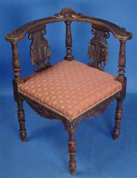 antique oak corner chair for sale antiques