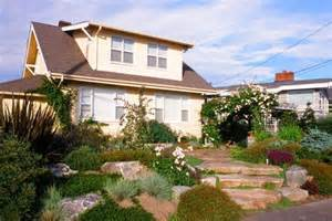 Landscape Design Front Yard with Hill