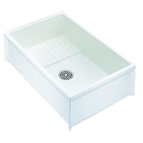 Mustee Mop Sink 65m by Mustee Mop Service Basin 24 In X 36 In X 10 In For 3 In