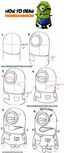 How to Draw Stuart the Minion as Frankenstein from ...