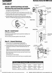 Scyprox2 Harmony H2 Series Lock User Manual Fcc Part 15