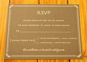 Bacon pages the big reveal weddingbee for Wedding invitation wording limited seating