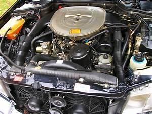 1991 Mercedes 560sel Engine Bay