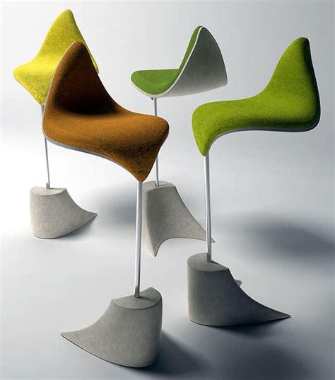 autumn inspiration  modern leaf inspired chair designs
