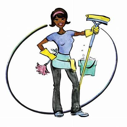 Cleaning Clipart Woman Housekeeping Clipartmag